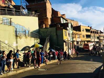 Sur les hauteurs de Medellin