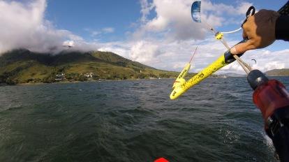 Lago Calima, spot de kite