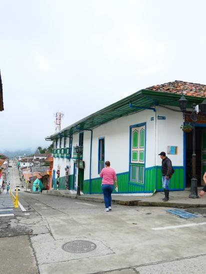 La place centrale de Salento