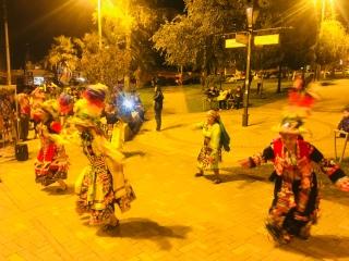 dance trad dans le quartier de la Floresta