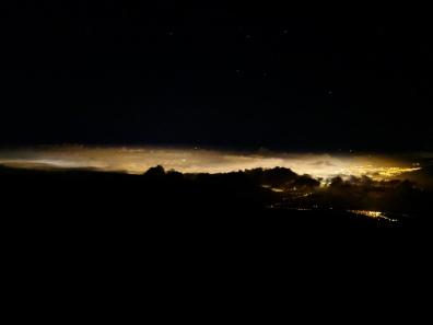 Quito de nuit vue de 4700m